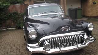 1952 Buick Starting Up