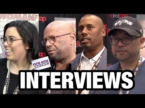 NYCC '19: Mairghread Scott, Justin Copeland, James Tucker, Sam Liu | 'WONDER WOMAN: BLOODLINES'