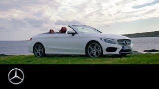 Mercedes-Benz C-Class Cabriolet: Wild Atlantic Road, Ireland | #MBvideocar