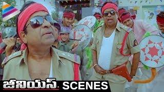 Brahmanandam Dances for Pawan Kalyan's Gabbar Singh Songs | Genius Telugu Movie Scenes | Shweta Basu
