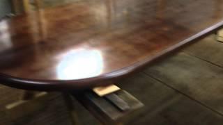 Лакирование деревянной столешницы(, 2015-05-19T05:36:44.000Z)