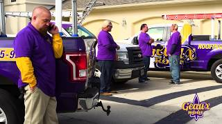 "Roof's UUP! - Geaux Roof ""Wassup"" Superbowl Commercial"