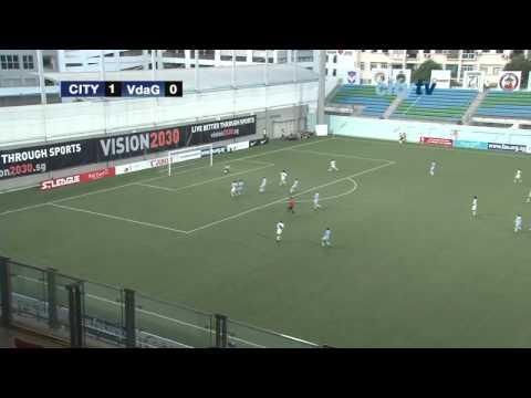 HIGHLIGHTS: City U15s 2-0 Vasco de Gama - Lion City Cup, Singapore