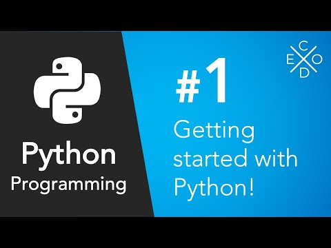 Python Programming #1 - Getting Started