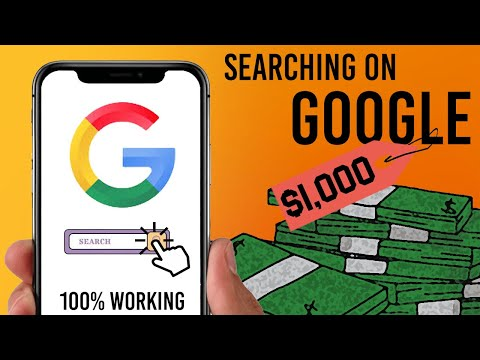 EARN $1,000! JUST Searching on Google |100% WORKING| (Make Money Online 2021)