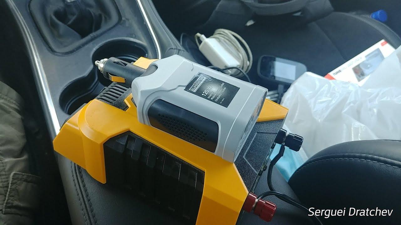 PowerDrive 400W vs Motomaster Eliminator 120W