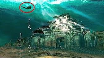 5 Unglaubliche Städte, die Unterwasser gefunden wurden!