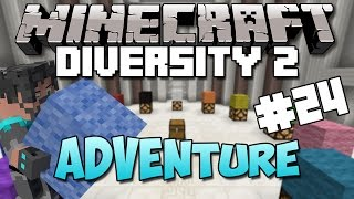 Minecraft : Diversity 2 - Ep. 24 - Meeting Professor Orange! (Adventure)