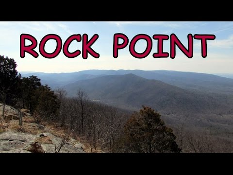 Rock Point: Appalachian Trail Hiking in Augusta County, Virginia