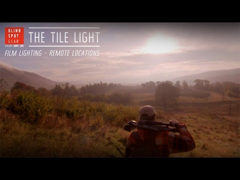 The Tile Light - Film Lighting - Remote Locations
