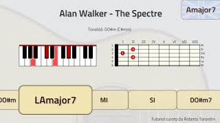Download TUTORIAL! Alan Walker - The Spectre (piano and guitar chords) Mp3