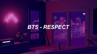 BTS (방탄소년단) 'Respect' Easy Lyrics