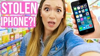 SOMEONE STOLE MY IPHONE?! VLOGMAS DAY 2!! Alisha Marie