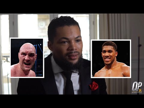 WHO WINS OUT OF TYSON FURY AND ANTHONY JOSHUA? 🤔 JOE JOYCE HAS HIS SAY AFTER SPARRING BOTH MEN