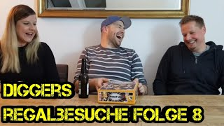 Regalbesuche - Digger bei Euch zu Gast - Folge 08 – Norma & Andreas - Brettspiele - Boardgame Digger