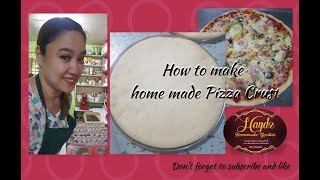 How to make Homemade Pizza Crust