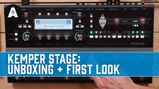 Kemper Profiler Stage: Unboxing & First Look!