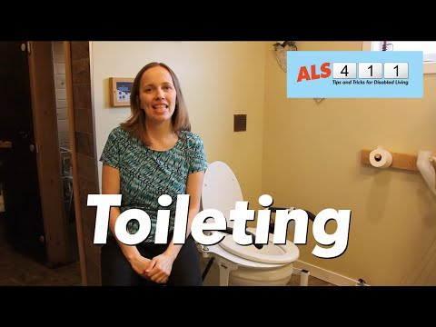 Caregiver Explains Toileting for Disabled Husband