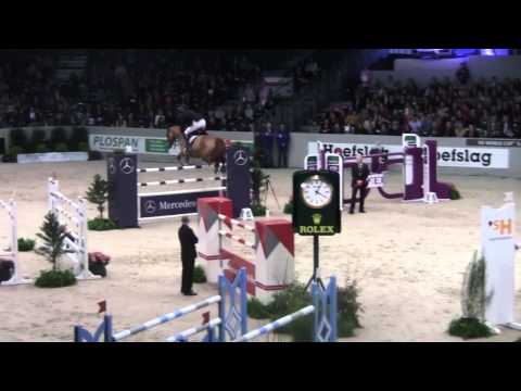 Rolex FEI World Cup Jumping Marc Houtzager and Sterrehof's Uppity Indoor Brabant 2013