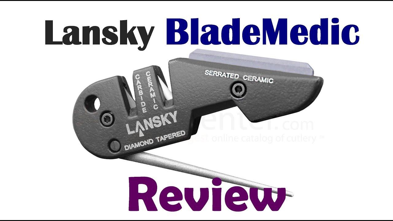 Review of the Lansky QuadSharp. Part# QSHARP - Part 1 of a 2 Part .