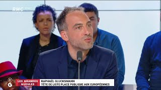 """""""Les Grandes Gueules"""" de RMC: le """"Grand Oral"""" de Raphaël Glucksmann (2ème partie)"""