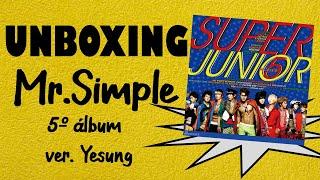 Unboxing: SUPER JUNIOR - MR SIMPLE