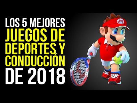 Los 5 MEJORES Juegos De DEPORTES Y CONDUCCIÓN De 2018