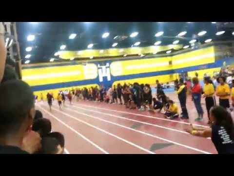 Harold L Richards high school NJROTC 2014 Bloomtrail pt competion relay race