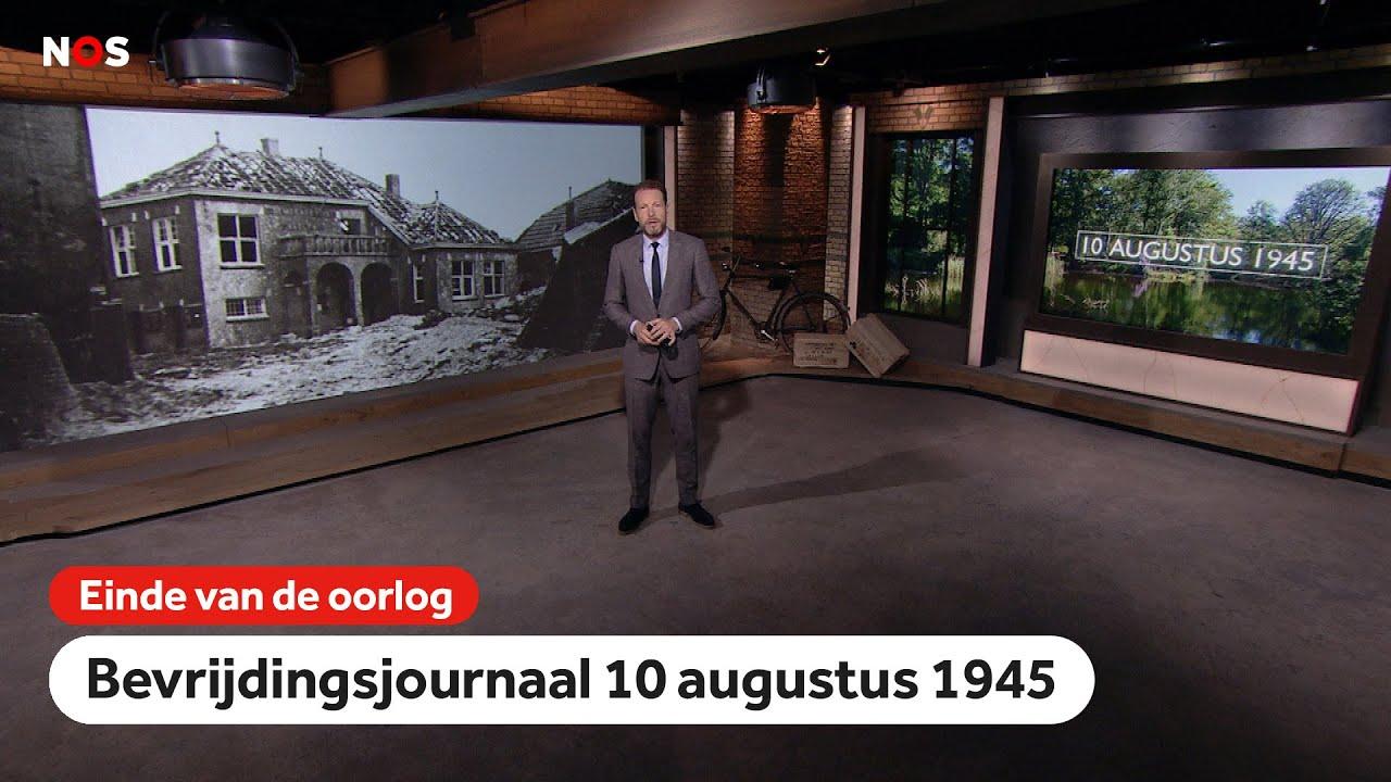 Bevrijdingsjournaal 10 augustus 1945 - 'Trieste aanblik'