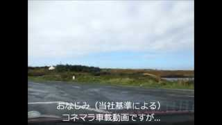 【車載動画】アイルランド西部、コネマラ地方(4)