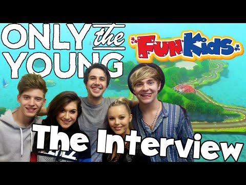 Only The Young Interview on Fun Kids