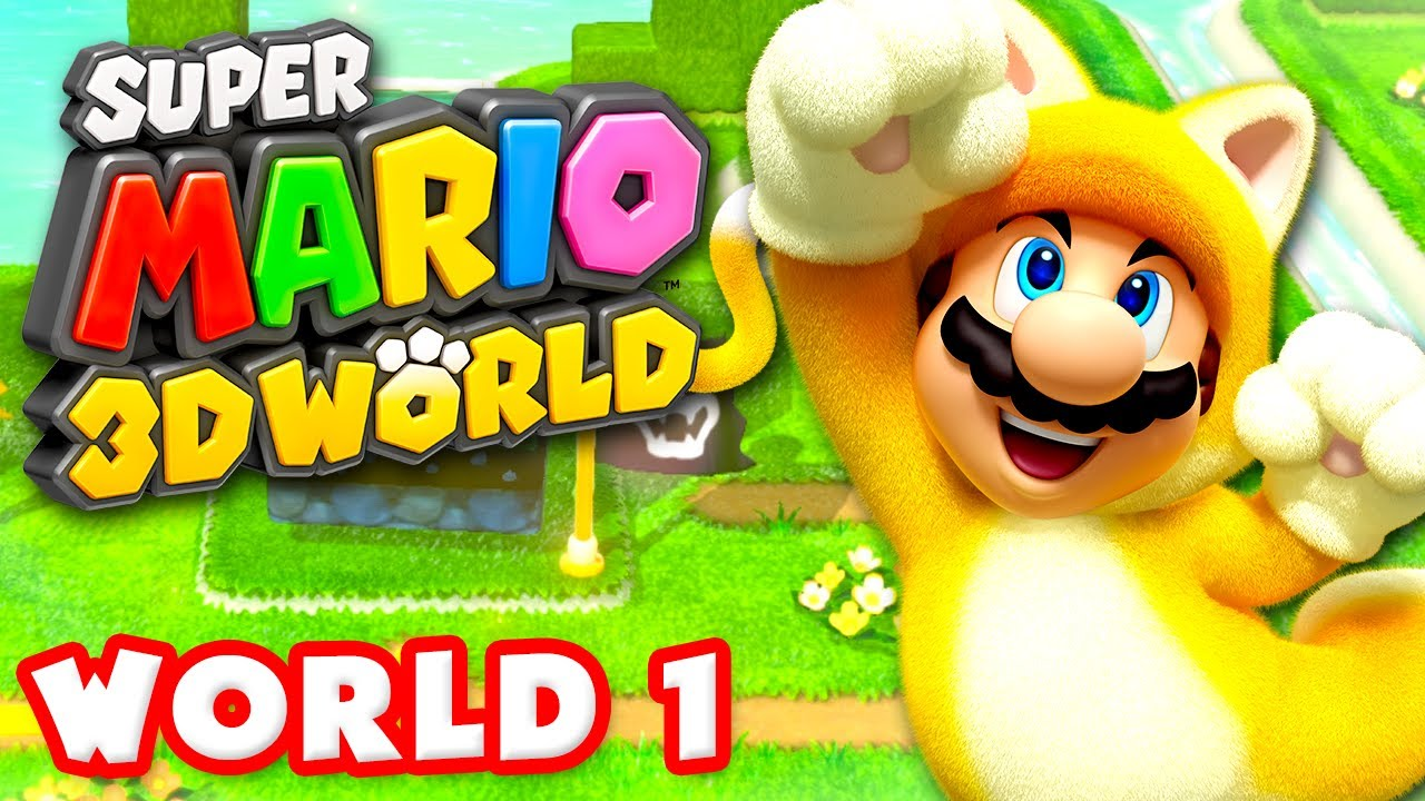 Super mario 3d world walkthrough part 1 world 1 100 for 3d walkthrough