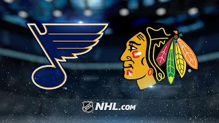 Blues rally to beat Blackhawks in OT, 5-4