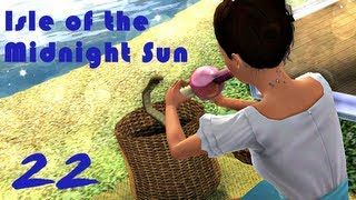 let s play the sims 3 isle of the midnight sun challenge part 22 sunflower dance w commentary