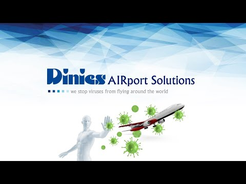 UV-C disinfection at airports - Dinies Technologies GmbH - Airport Solutions