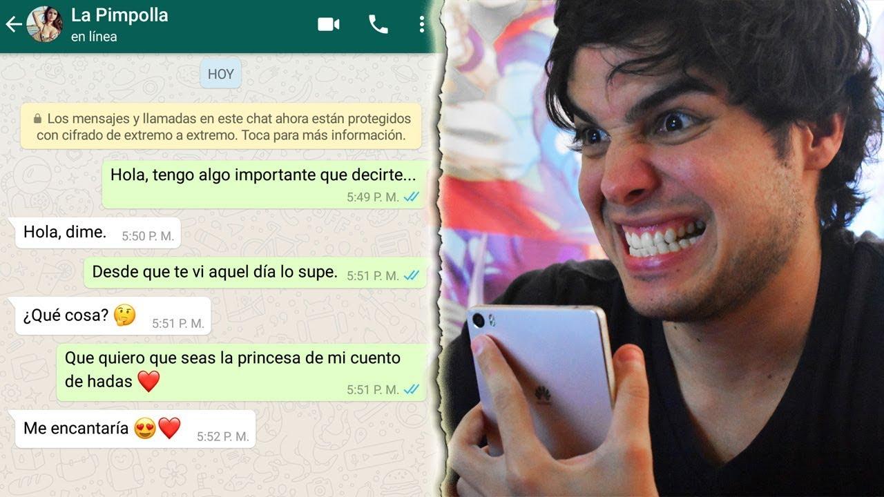 Cómo Enamorar A Una Mujer Por Whatsapp Youtube