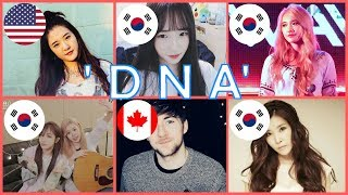 Download lagu Who Sang It Better: DNA - bts (South Korea, USA, Canada) Cover Battle