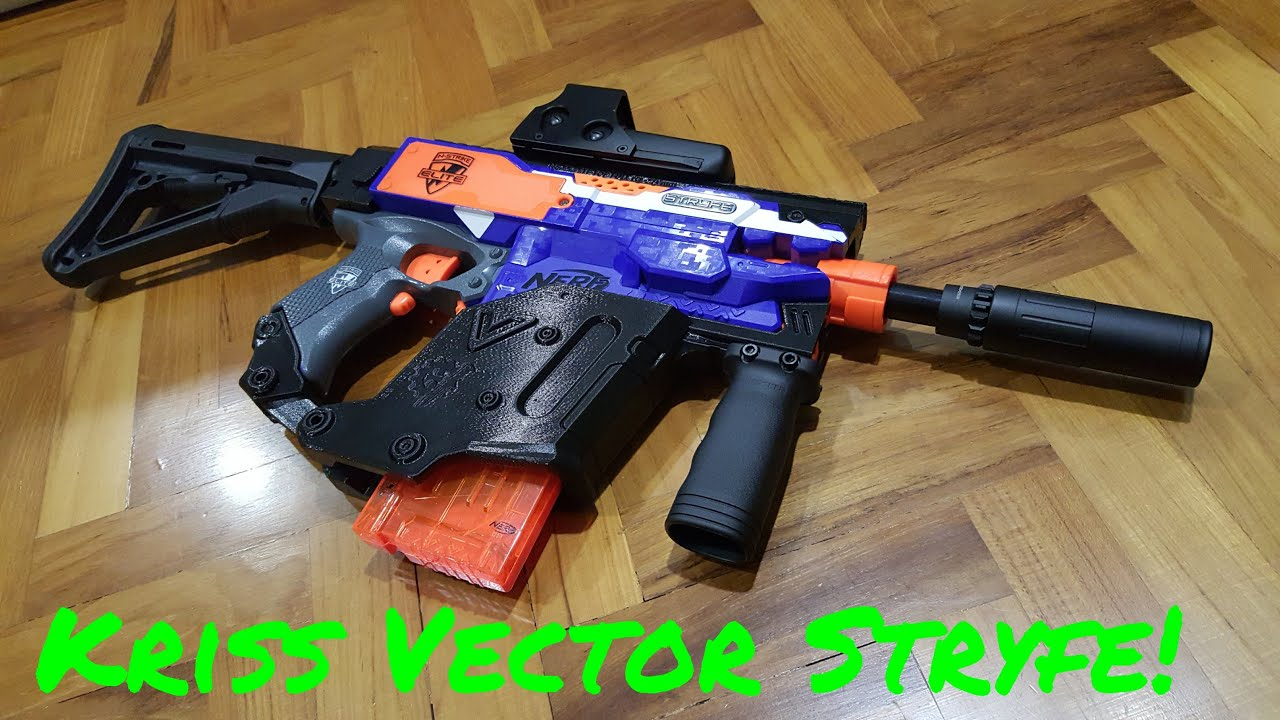 {Review} Nerf Kriss Vector Stryfe
