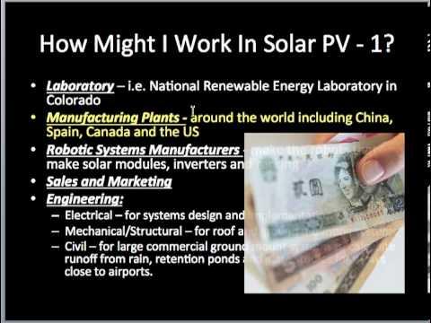 Solar PV Class 1