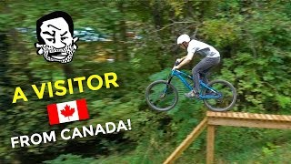 Whistler Local visits the South | Downhill MTB with Jordan Boostmaster