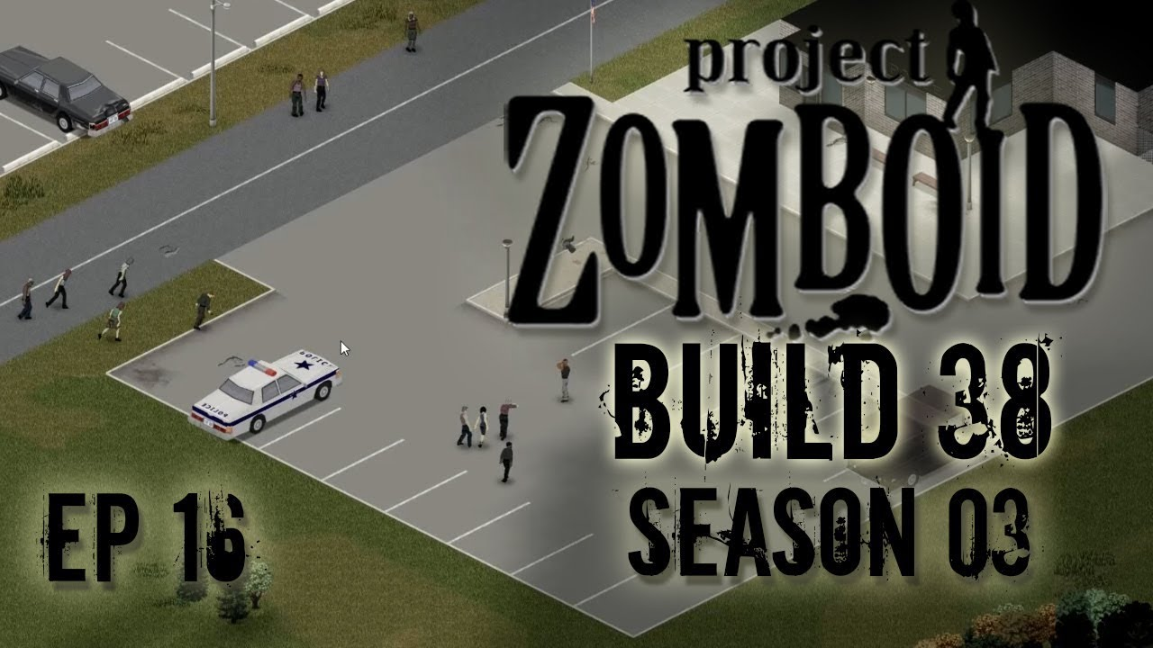 PROJECT ZOMBOID Season 3 | Police Station | Ep 16 | Let's Play Project  Zomboid