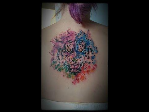 VLOG / Neues Tattoo / Rücken Tattoo / Viele schmerzen