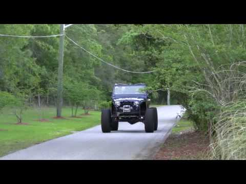 Project Patriot - Jeep TJ with cammed LSx 5.3 on 42s - YouTube