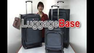 """Luggage Base Review of the 24"""" Spinner from SwissGear"""