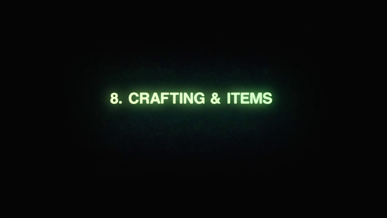 'How to' Official Guide - Crafting and Items [US]