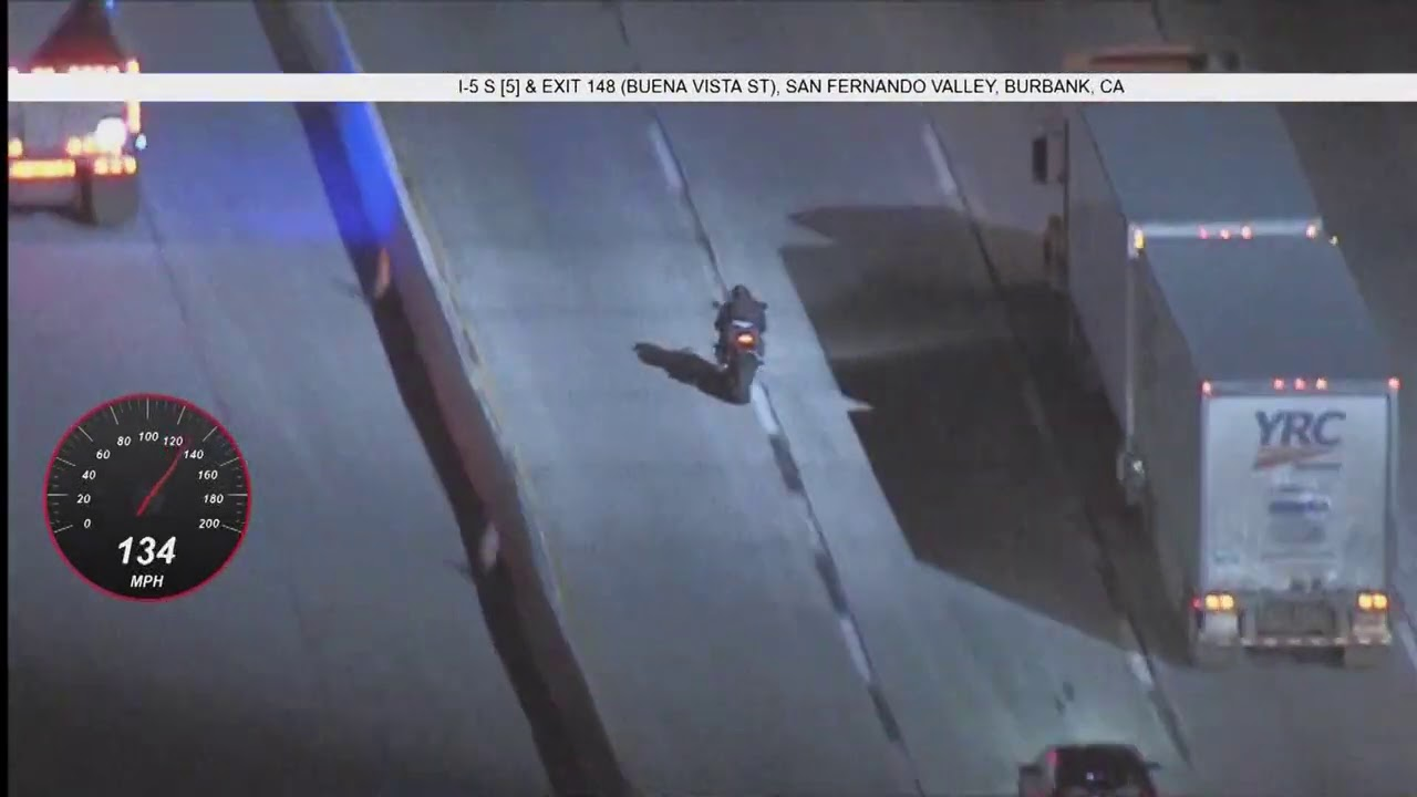 02/17/21 - Motorcycle Hits Speeds of 145 mph!