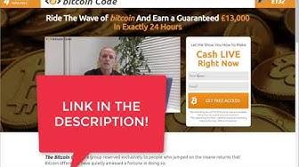 Bitcoin Code Erfahrungen  2019 - Live-Demonstration - Bitcoin Code BETRUG oder SERIÖS?