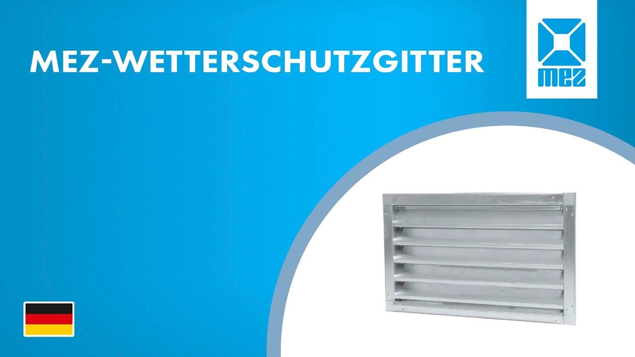 DN 150 Intelmann Wetterschutzgitter Grau Ø 150 Aluminium 100 125 150 160 200