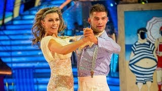 Abbey Clancy & Aljaz Quickstep to