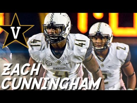Zach Cunningham    Best LB in the Country    Vanderbilt Highlights
